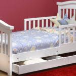 детские кровати с бортиками от 3 лет виды