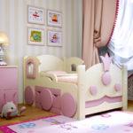 детские кровати с бортиками от 3 лет фото идеи