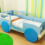 детские кровати с бортиками от 3 лет виды идеи