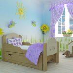 детские кровати с бортиками от 3 лет обзор