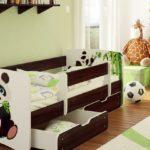 детские кровати с бортиками от 3 лет виды декора