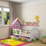 детские кровати с бортиками от 3 лет дизайн фото