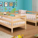 детские кровати с бортиками от 3 лет фото дизайн