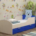 детские кровати с бортиками от 3 лет фото дизайна