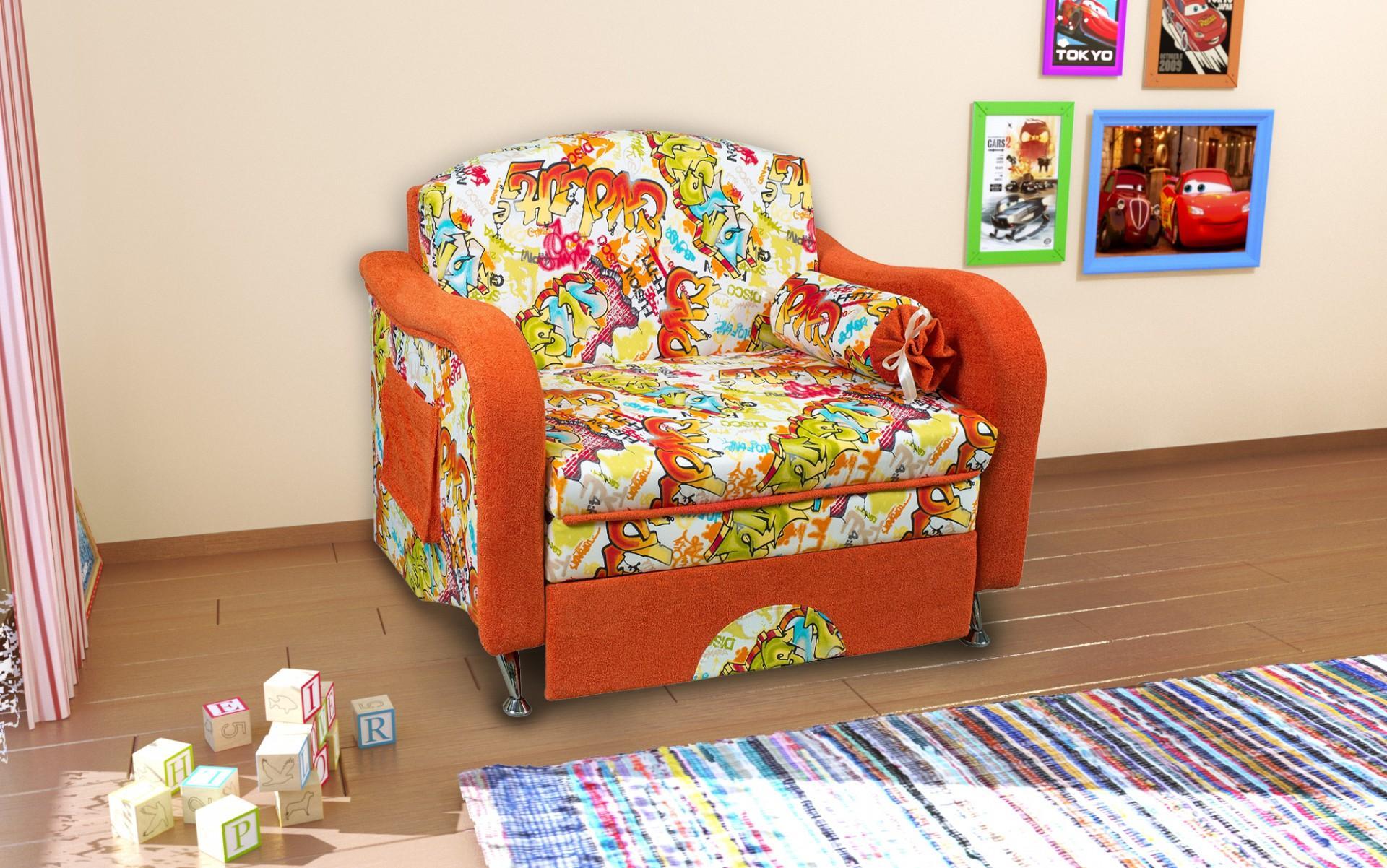 детское кресло кровать фото оформления