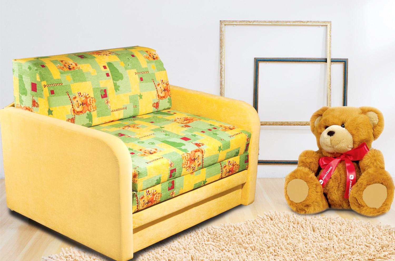 детское кресло кровать оформление