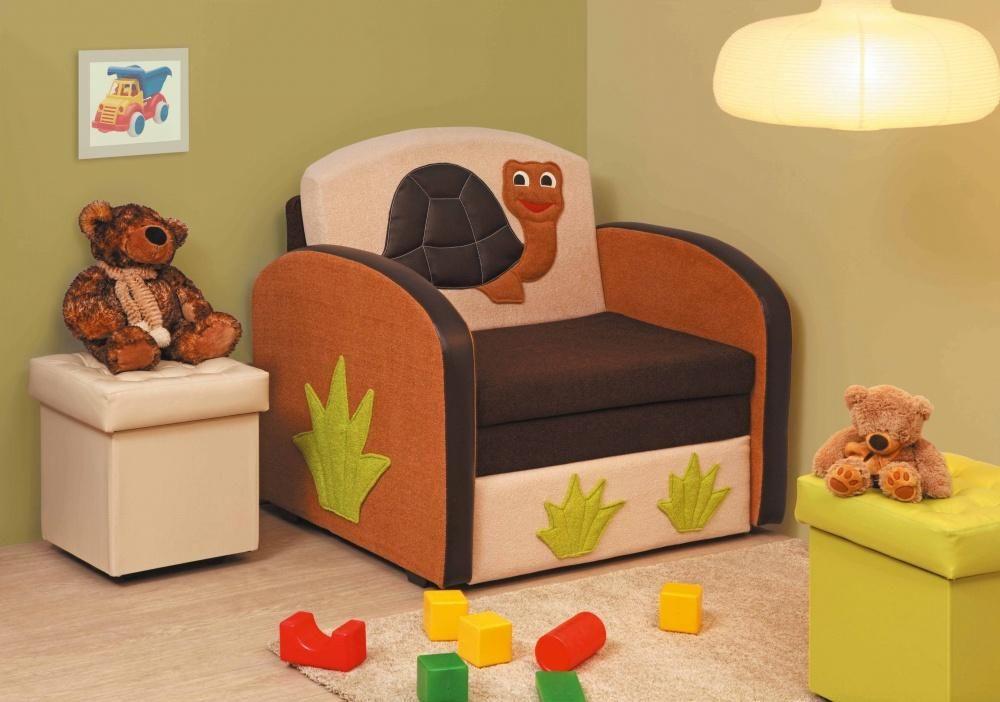 детское кресло кровать в интерьере