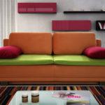 диван для сна интерьер идеи