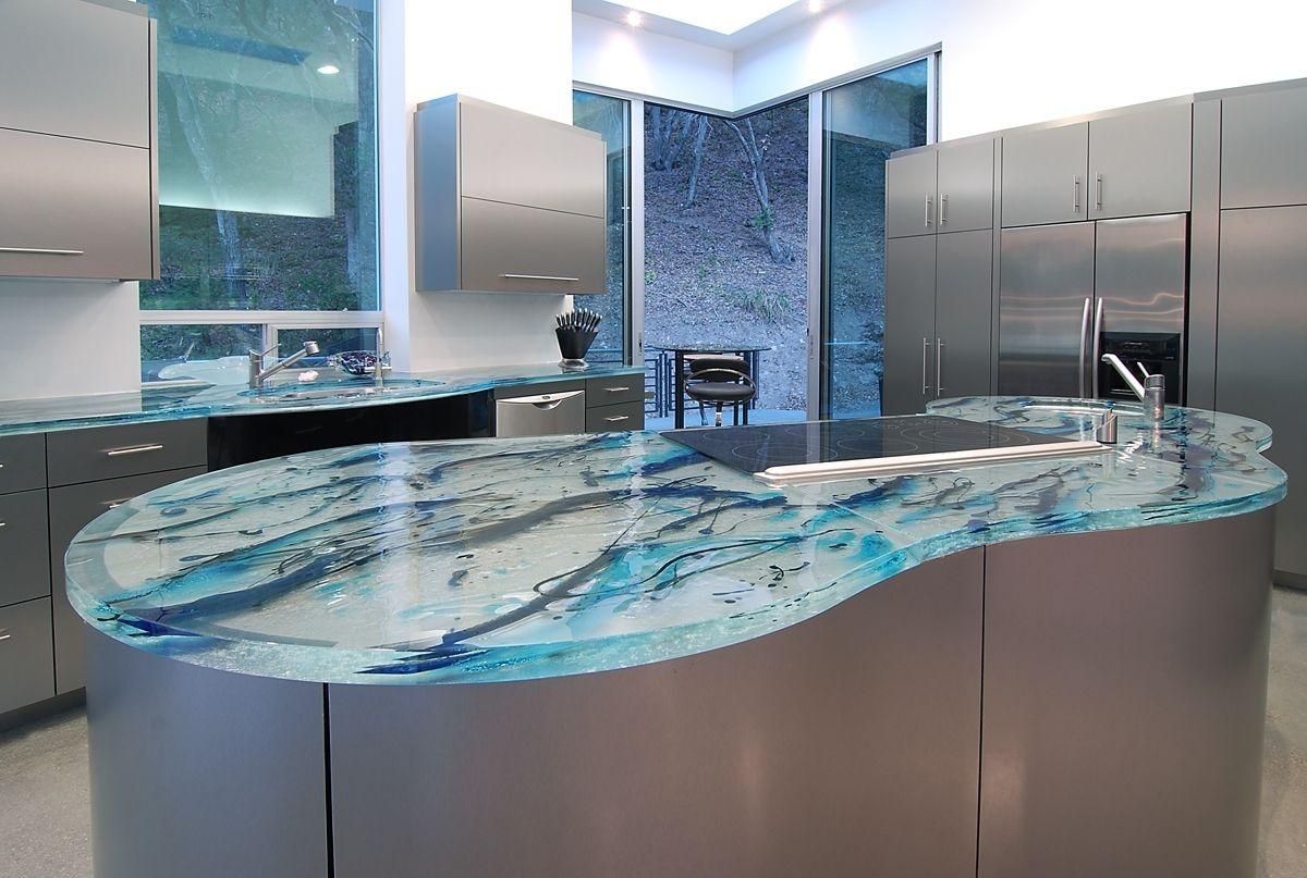 дизайнерская кухонная столешница