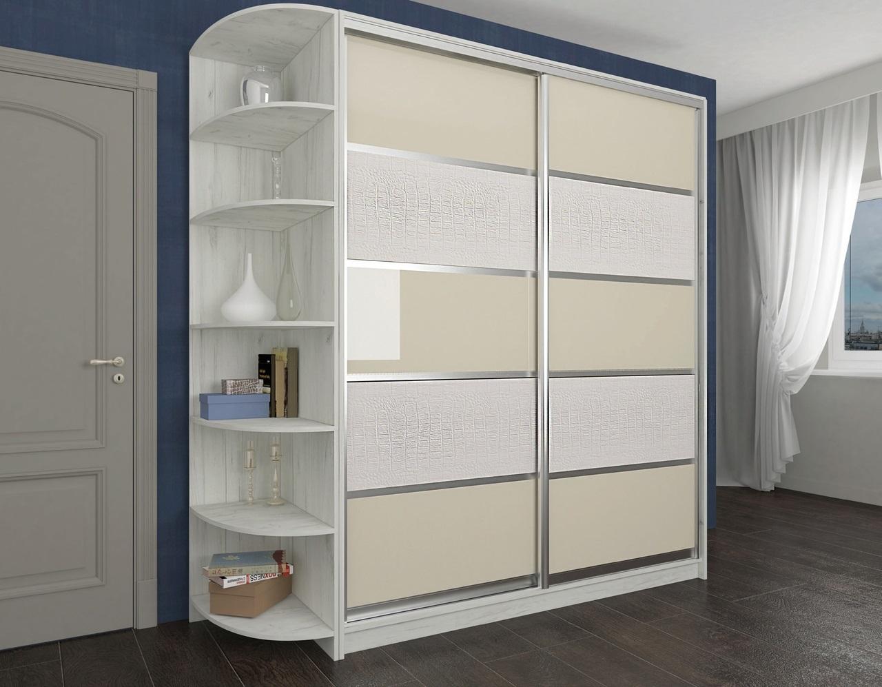 дизайн шкафа-купе отдельно стоящий