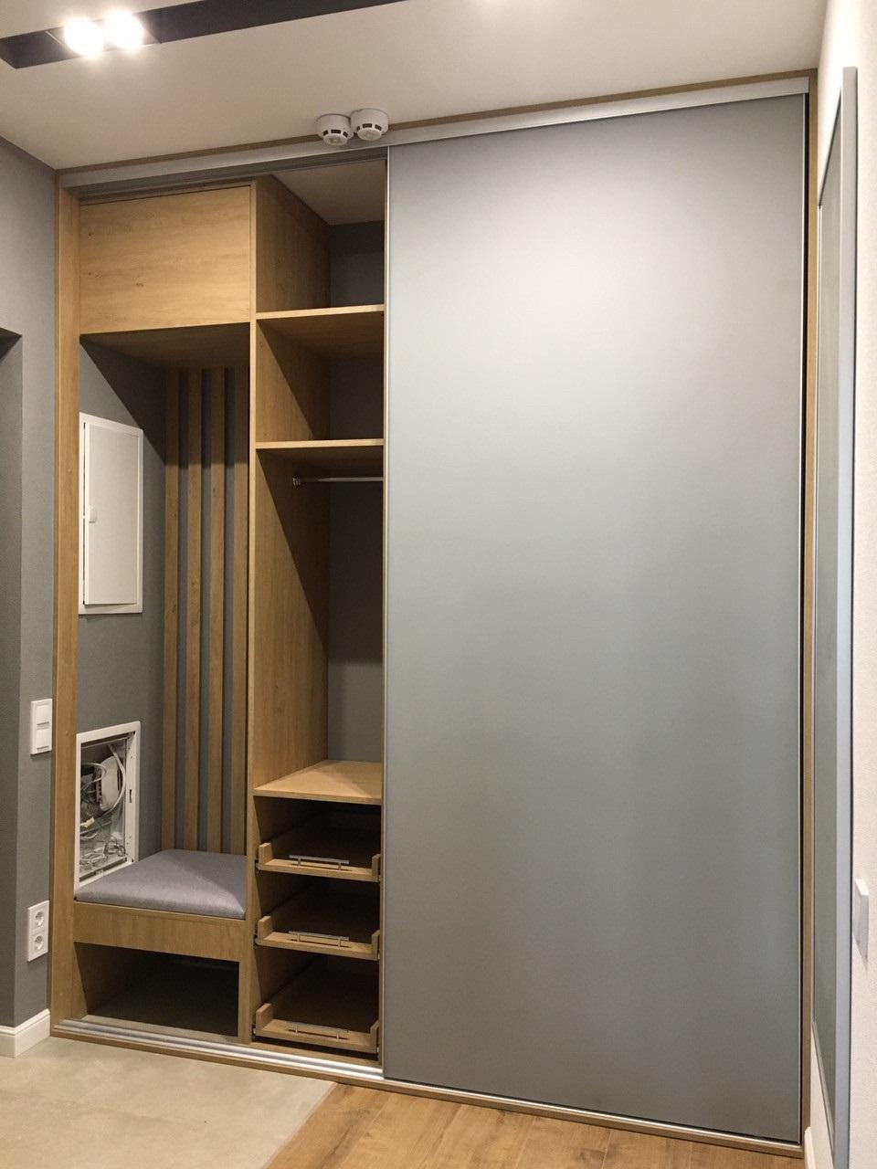 дизайн шкафа-купе внутреннее наполнение