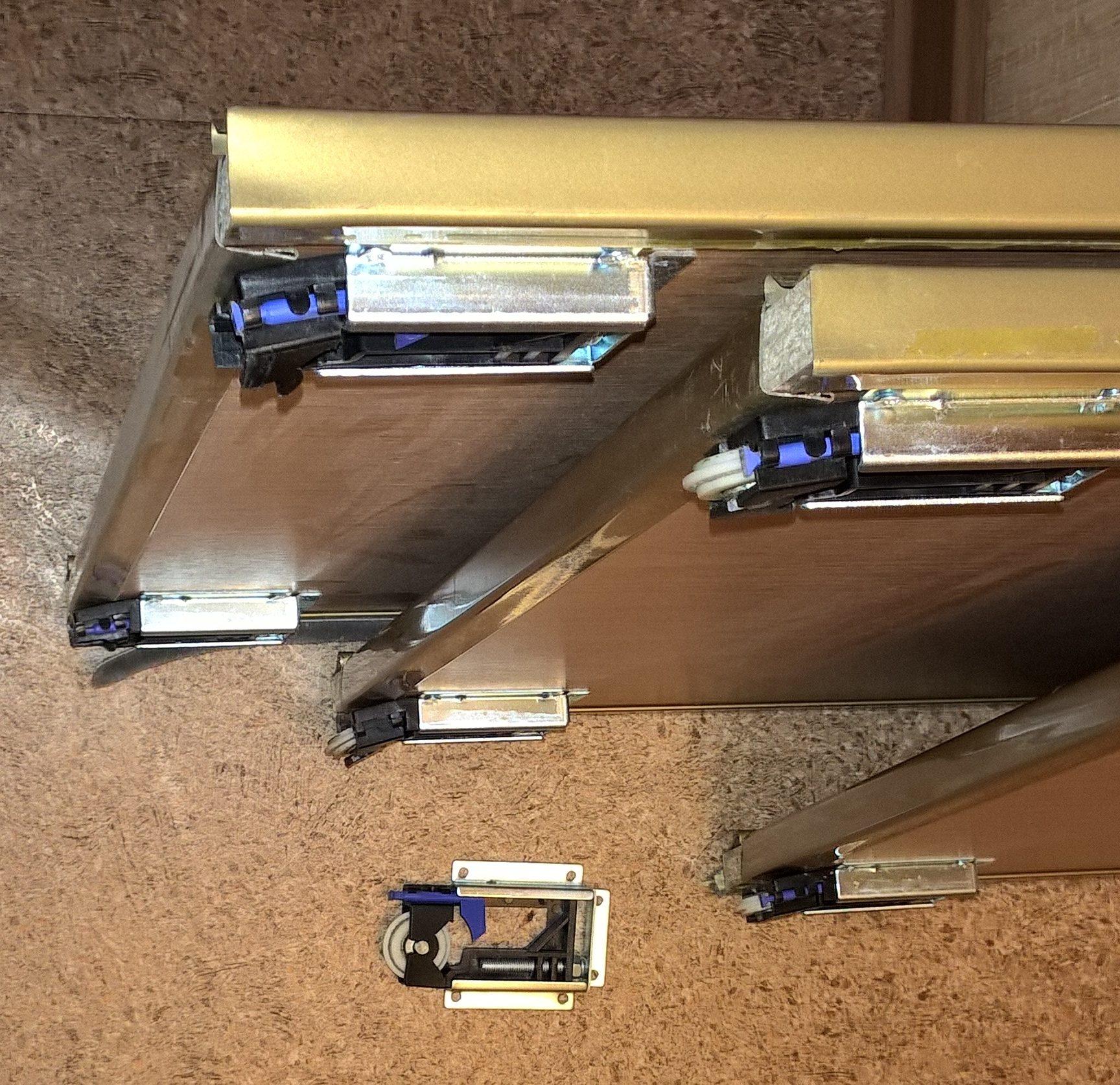 детали для изготовления дверей для шкаафа купе