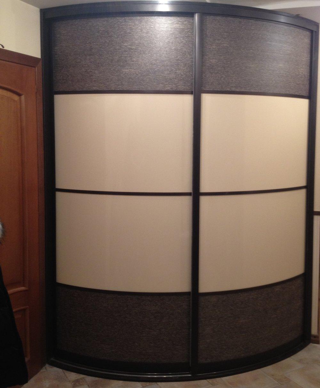 радиусная дверь шкафа купе