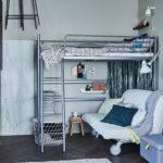кровать-чердак с диваном заказать