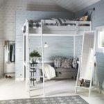 кровать-чердак с диваном для жизни