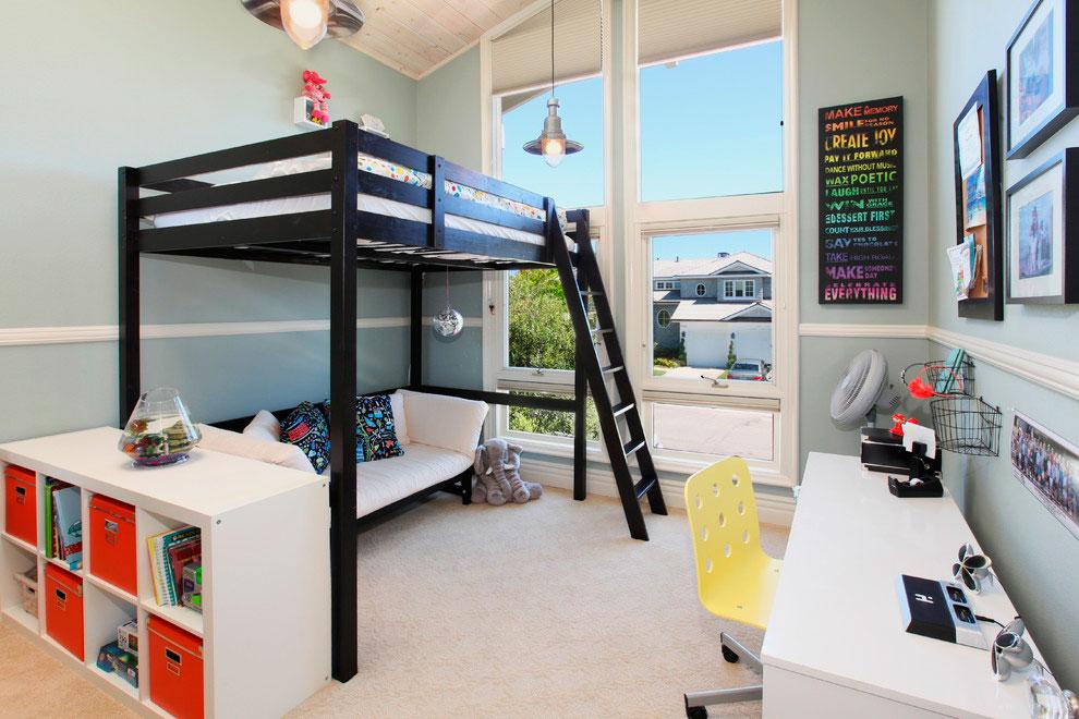 лестница для кровати-чердака