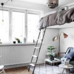 кровать-диван серый