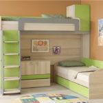 кровать-диван зеленый
