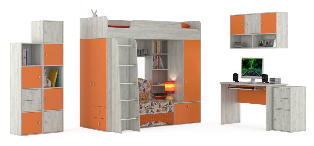 качество конструкции кровати-чердак