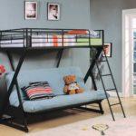 кровать-чердак с диваном для ребенка