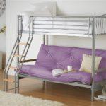 кровать-диван сиреневый
