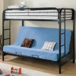 кровать-диван голубой