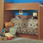 кровать-чердак с диваном стандартная