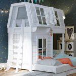 кровать для девочки домиком