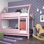двух уровневая кровать для девочки