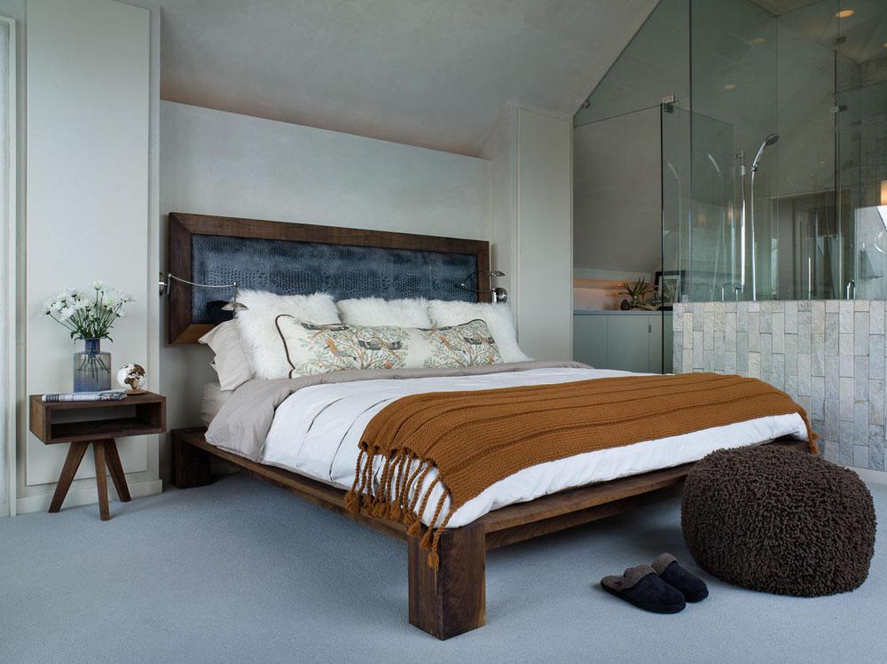 двуспальная кровать из массива фото