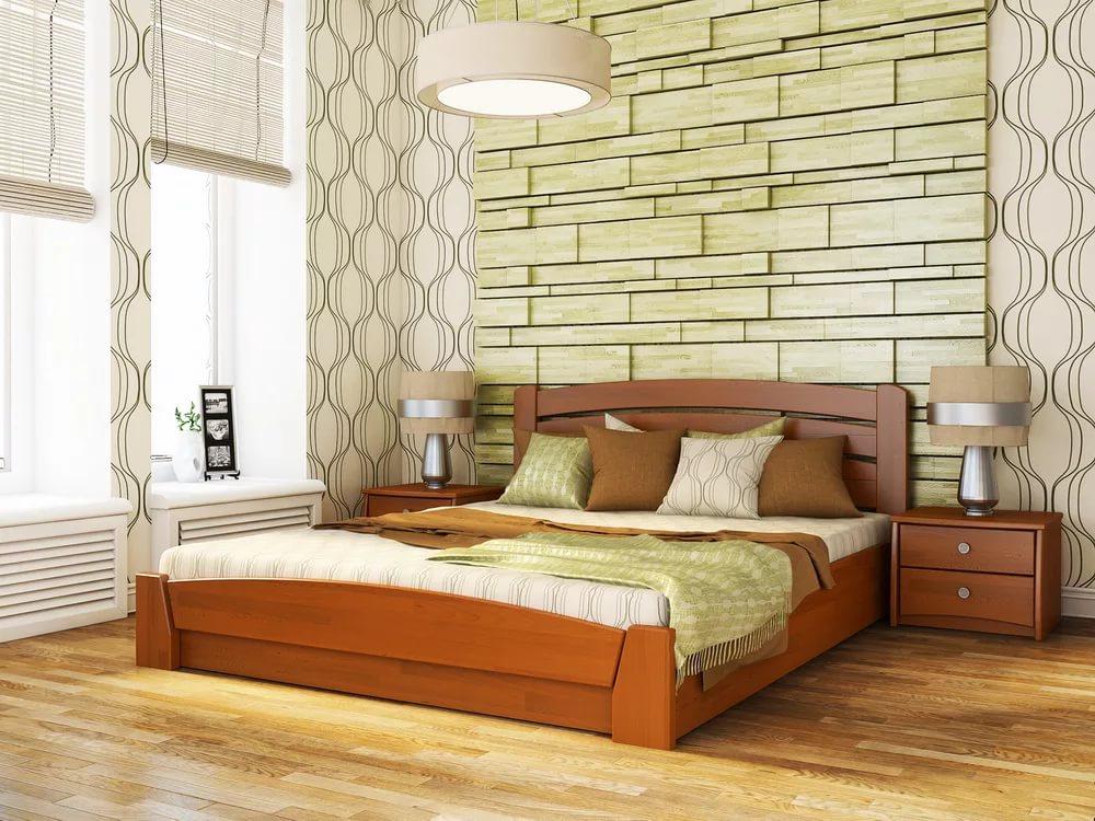 двуспальная кровать из массива идеи