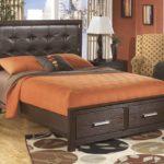 двуспальная кровать с ящиками дизайн идеи