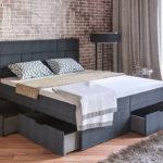 двуспальная кровать с ящиками идеи оформление
