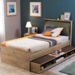 двуспальная кровать с ящиками идеи варианты