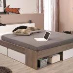 двуспальная кровать с ящиками виды