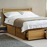 двуспальная кровать с ящиками фото виды