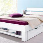 двуспальная кровать с ящиками виды декора