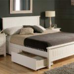 двуспальная кровать с ящиками варианты дизайна