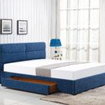 двуспальная кровать с ящиками дизайн фоо