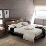 двуспальные кровати из массива дерева дизайн идеи