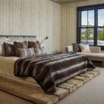 двуспальные кровати из массива дерева идеи дизайн