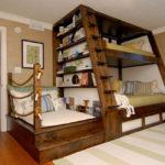 двуспальные кровати из массива дерева фото декора