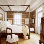 двуспальные кровати из массива дерева идеи оформление