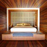 двуспальные кровати из массива дерева идеи оформления