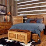 двуспальные кровати из массива дерева варианты фото