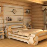 двуспальные кровати из массива дерева идеи вариантов