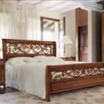 двуспальные кровати из массива дерева фото виды