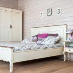 двуспальные кровати из массива дерева идеи виды