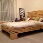 двуспальные кровати из массива дерева варианты дизайна
