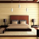 двуспальные кровати из массива дерева варианты оформления